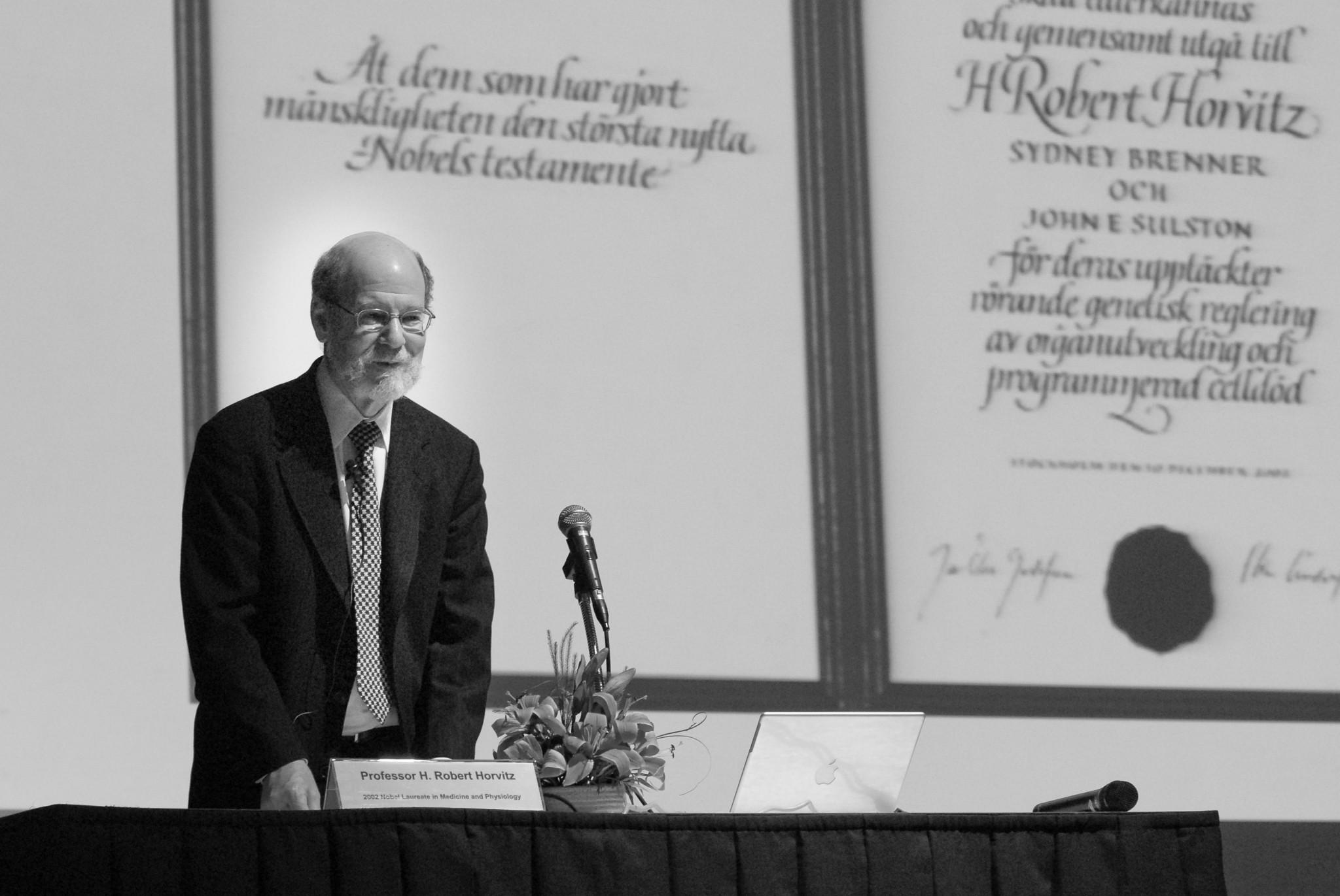 Medicine Nobel Laureate Prof. H. Robert Horvitz (5)